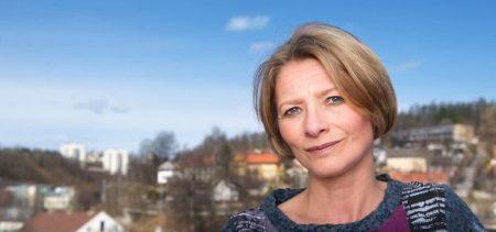 """Forbrukerombud Gry Nergård er kritisk til """"selgeselv""""-løsninger i boligomsetningen (Foto: CF Wesenberg/Kolonihaven)"""